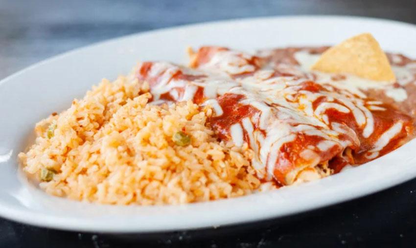 BurritoVille Mex Food - Enchiladas
